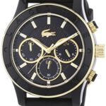 Lacoste Damen-Armbanduhr CHARLOTTE Analog Quarz Silikon 2000862 B00LX5RF3G