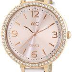 MC Timetrend Damen-Armbanduhr Analog Quarz Leder 51298 B00PUHN7TY