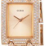 Guess Damen-Armbanduhr XL Analog Quarz Edelstahl W0072L3 B00FOPLCZ8