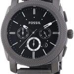 Fossil Herren-Armbanduhr Dress Smoke Ip Quarz Analog FS4662 B0055BX0CE