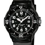 Casio Damen-Armbanduhr CASIO COLLECTION Analog Quarz (One Size, schwarz) B00MG4ISDO