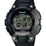 Casio Unisex-Armbanduhr XL Digital Quarz Resin STB-1000-1EF Bluetooth-Sportuhr B00IS52THQ