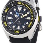 Seiko Herren-Armbanduhr XL Kinetic Diver Chronograph Quarz Plastik SUN021P1 B00MCB9E7K