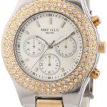 Mike Ellis New York Damen-Armbanduhr Analog Quarz Edelstahl L2970ARM/3 B00DNTJX26