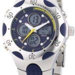 MC Timetrend Herren-Armbanduhr Analog – Digital Quarz Metallband 25038 B00IMB43CU