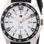 Tommy Hilfiger Watches Herren-Armbanduhr XL Analog Quarz Silikon 1790884 B00BER4F5E