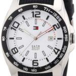 Tommy Hilfiger Watches Herren-Armbanduhr XL Analog Quarz Silikon 1790884 B00BER4F5E