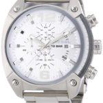 Diesel Herren-Armbanduhr XL OverFlow Chronograph Quarz Edelstahl DZ4203 B004X53726