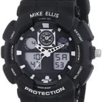 Mike Ellis New York Herren-Armbanduhr XL Digital Quarz Plastik SL4-60221 B00LNB15FY