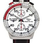 Elysee Herrenuhr Chronograph Graf Berghe Von Trips Rally Timer I 80516 B00KIMKDIE