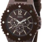 Guess Herren-Armbanduhr XL Overdrive Multifunktion Analog Quarz Silikon W11619G3 B0077APVSM
