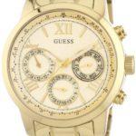 Guess Damen-Armbanduhr Chronograph Quarz Edelstahl W0330L1 B00I9CMLWG
