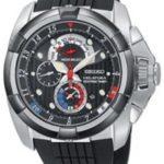 Seiko Damen-Armbanduhr Analog Gummi Schwarz SPC007 B005FFR0UI