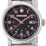 Wenger Damen-Armbanduhr XS Urban Classic Analog Quarz Edelstahl 01.1021.106 B00FV17EFC