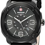 Wenger Herren-Armbanduhr XL Escort Analog Quarz Leder 01.1051.108 B00JQ96PRI