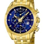 Festina Herren-Armbanduhr XL Analog Quarz Edelstahl beschichtet F16656/3 B00CTOV6WQ