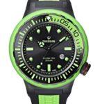 Kienzle Poseidon Herren-Armbanduhr XL SCUBA PRO Analog Quarz Kautschuk K2081243033-00395 B00E1I8SIS