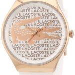 Lacoste Damen-Armbanduhr Analog Quarz Silikon 2000809 B00ENWRPPY