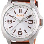 BOSS Orange Herren-Armbanduhr XL Brisbane Analog Quarz Edelstahl 1513097 B00MJ1J76Q