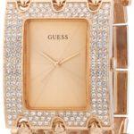 Guess Damen-Armbanduhr Edelstahl Ladies Trend Analog Quarz W0085L3 B00ELC2312