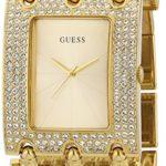 Guess Damen-Armbanduhr XS Analog Quarz Edelstahl beschichtet W0315L2 B00K75HHZY