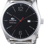Lacoste Herren-Armbanduhr XL AUSTIN Analog Quarz Edelstahl 2010746 B00LSBN09S