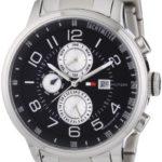 Tommy Hilfiger Watches Tommy Hilfiger Herren-Armbanduhr Casual Sport XL Analog Quarz Edelstahl 1790860 B008U7J5FG