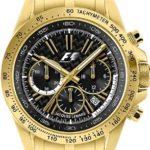 Jacques Lemans, Formula 1, Damenarmbanduhr, Analog/Chronograph SL – schwarz/gold B001GP68NQ