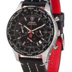Detomaso Classic Herren-Armbanduhr FIRENZE Chronograph Quarz SL1624C-BK B0036ZBTD8