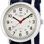 Timex Unisex-Armbanduhr Weekender Slip Through Analog Nylon T2N654 B0056DC8LU