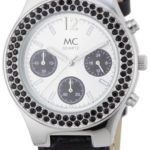 MC Timetrend Damen-Armbanduhr Analog Quarz Chrono-Optik Leder 26958 B00591FPP0