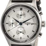 ELYS5|#Elysee Elysee Herren-Armbanduhr XL ANTAEUS Analog Leder 80504 B007PAELJE