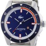 Lacoste Herren-Armbanduhr XL Analog Quarz Edelstahl 2010701 B00ENWRWZM