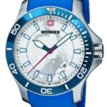 Wenger Herren-Armbanduhr XL SEAFORCE Arctic Light Edition Analog Quarz Kautschuk 60.0641.112 B00JQCHE1G