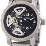 Fossil Herren-Armbanduhr XL Analog Quarz Edelstahl ME1132 B00CS1EG54