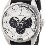 Festina Herren-Armbanduhr XL Analog Quarz Leder F16609/1 B009LCJA4A