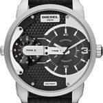 Diesel Herren-Armbanduhr XL Analog Quarz Leder DZ7307 B00J8OS4P2