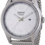 Esprit Herren-Armbanduhr XL Menlo Analog Quarz Edelstahl ES106341004 B00FWGVKLK