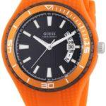 Guess Herren-Armbanduhr XL Analog Quarz Silikon W95143G5 B0070KKN0K