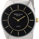 Mike Ellis New York Herren-Armbanduhr XS Analog Quarz Edelstahl M1126ASM/2 B00DIR7FKK