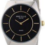 Mike Ellis New York Herren-Armbanduhr XS Analog Quarz Edelstahl M1126ASM/2 B00DIR7FKK