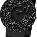 Jacques Lemans Damen-Armbanduhr XL Flora Analog Quarz Edelstahl beschichtet 1-1789F B00GN9QFAG
